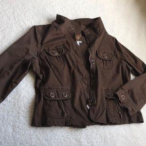 Super stylish brown jacket